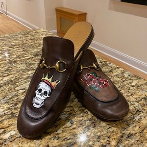 HAND PAINTED GUCCI JORDAN LOAFERS